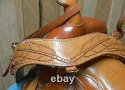 Vintage Custom Endurance Trail Western Saddle by Dan Williams 16 inch