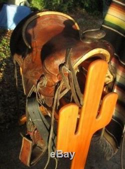 Vintage Hess & Hopkins Western Ranch Saddle 1920-1940