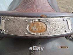 Vintage Original Olsen Nolte Western Saddle