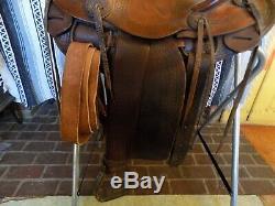 Vintage Schoellkopf Jumbo Western Saddle