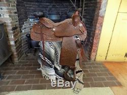 Vintage Western Ryon Saddle