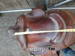 Vintage Western Saddle Made By Simco