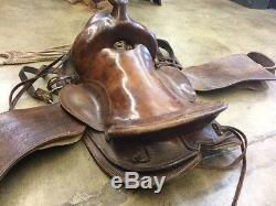 Vintage western saddle, very comfortable