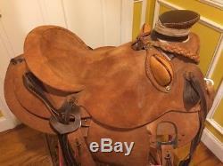 Wade Roping Saddle Ranch/trail/training/buckaroo Roughout