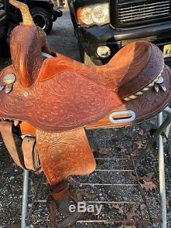 Western Circle Y Martha Josey 14 Western Equestrian Saddle