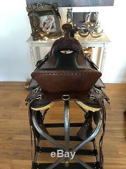 Western Endurance Style Custom 16 Saddle