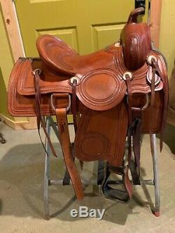 Western Saddle, 15 Trail/ Pleasure by California Saddlery