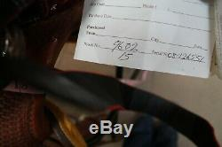 Western Saddle BILLY COOK Pro Reiner Saddle, #9602 Seat 15 Used Very Lightly