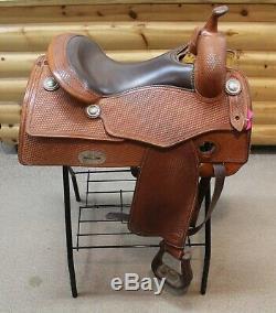 Western Saddle BOB'S CUSTOM Used 16 Reining Saddle