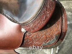 Western Show Saddle, Bridle and Reins Hereford Brand Tex Tan Yoakum