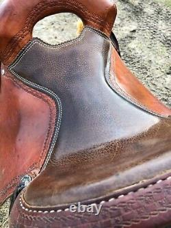 Western Vernon Purdy 15.5 Saddle Ranch/All-Purpose