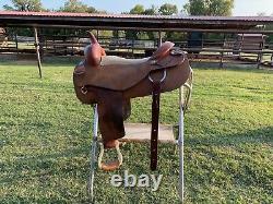 Western saddle 17