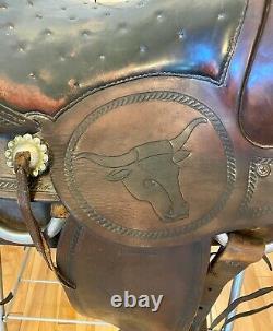 Western saddle used 16