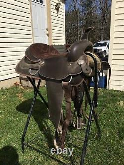 Wintec Synthetic Western Trail Saddle 16 Seat