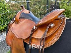 Wunderschöner Allround Westernsattel Equiflex der Continental Saddlery XXL