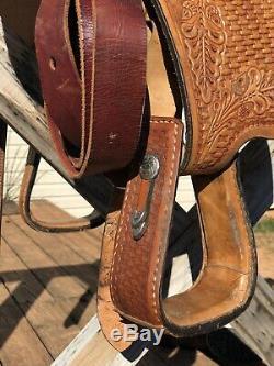Youth 13 Western Show Saddle