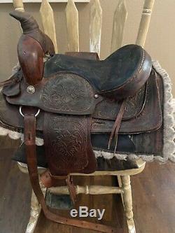 Youth Western Saddle 13